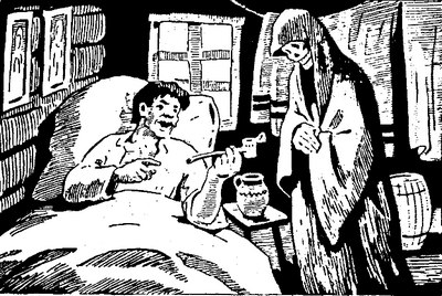 Бідний чоловік і смерть