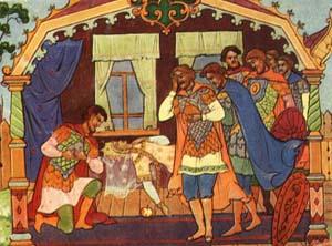 Про мертву царівну та сімох богатирів
