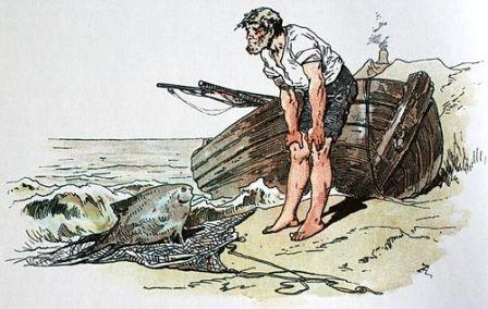 Про рибалку та його жінку
