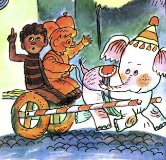 Про Пончика Батончика та білого слоника