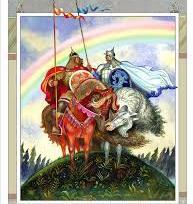 Іван-богатир і Білий Полянин