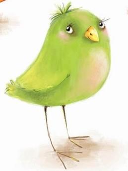 Жадібна пташка