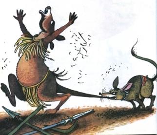 Звідки у кенгуру взявся хвіст