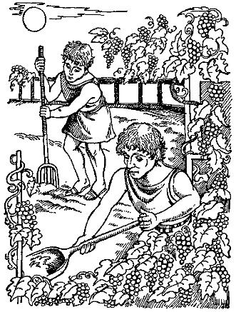Селянин та його діти