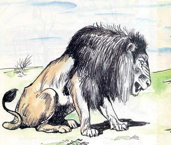 Лев та ведмідь