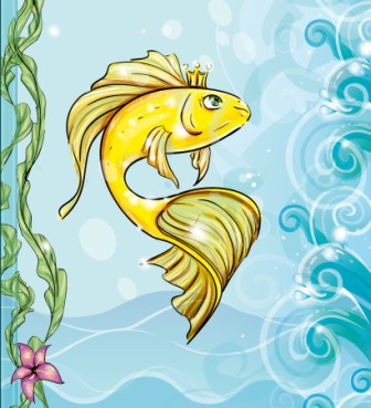"""Екологічна казка на новий лад """"Золота рибка"""""""