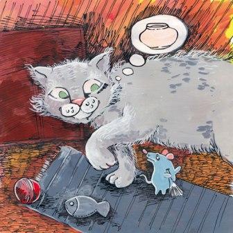 Як кішка з мишкою приятелювала