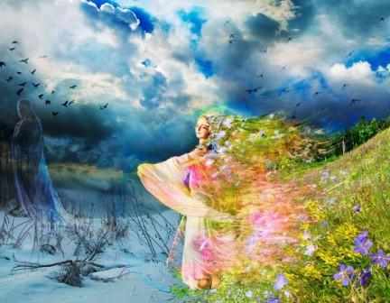Сценарій свята Зустріч Зими і Весни
