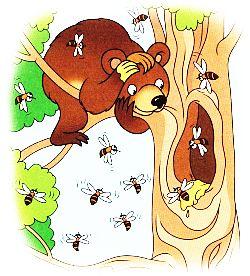 Бджоли і медвідь